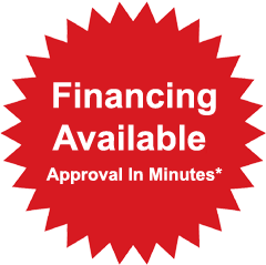Financing Available. Approval In Minutes